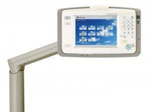 Panneau de contrôle d'un photocopieur multifonction Canon - LSI France